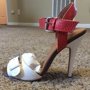 Brand new heeled sandals